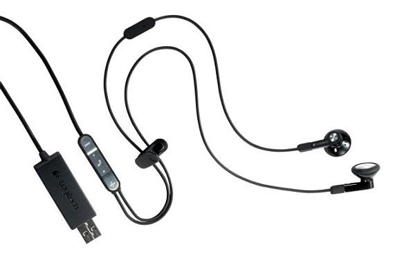 Logitech BH320 earbuds