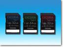 Toshiba EXCERIA memory cards_small