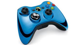 Chrome-Xbox-360-controller