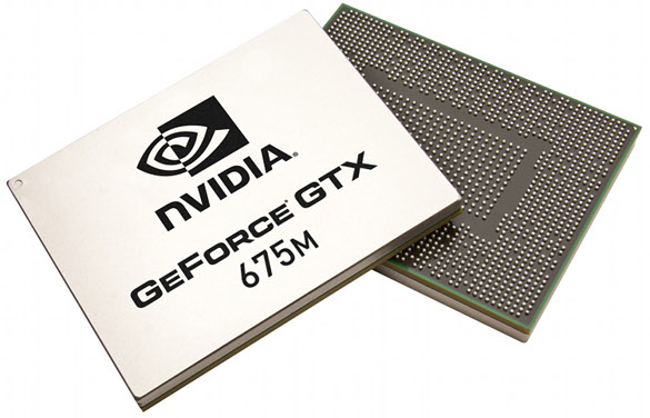 GeForce GTX 675M chips