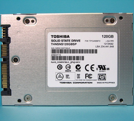I-O Data Toshiba SSD