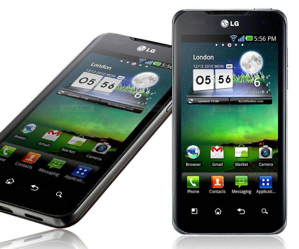 LG Optimus smartphones