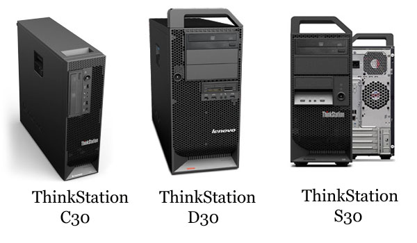 Lenovo ThinkStation C30 D30 S30