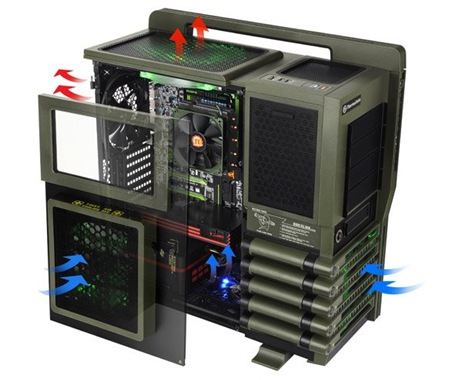 Thermaltake Level 10 GT Battle Edition case