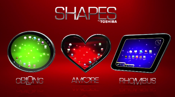 Toshiba Shapes tablets