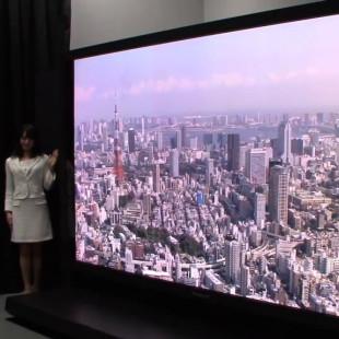 Panasonic and NHK unveil 145-inch display