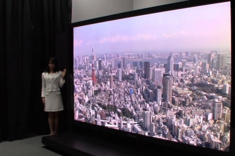 Panasonic and NHK unveil 145-inch display
