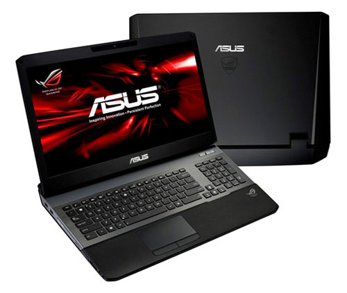 ASUS ROG G75VW G55VW laptops