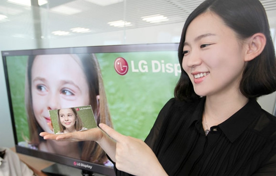 LG 5-inch Full HD display