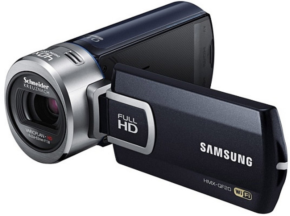 Samsung unveils two new camcorders