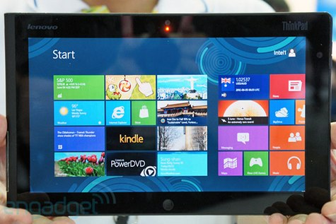 Lenovo Windows 8 ThinkPad Tablet