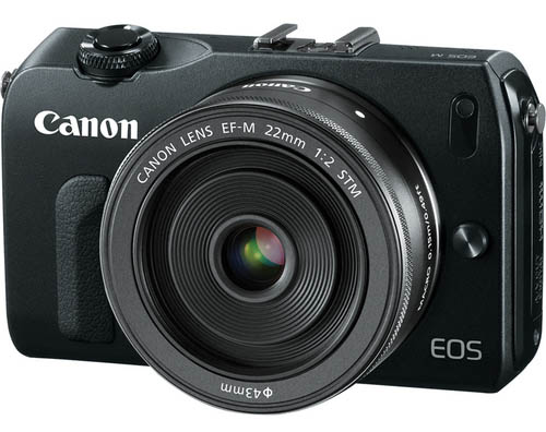 Canon EOS M digital camera