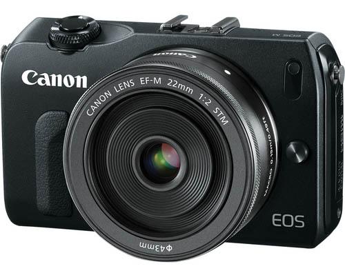 Canon EOS M digital camera