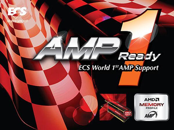 ECS AMP Ready Logo