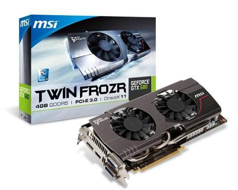 MSI N680GTX Twin Frozr 4GD5