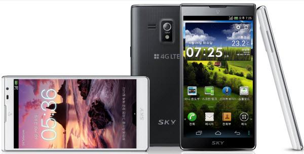 Pantech Vega S5 smartphone