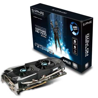 Sapphire Toxic Radeon HD 7970 6 GB VRAM