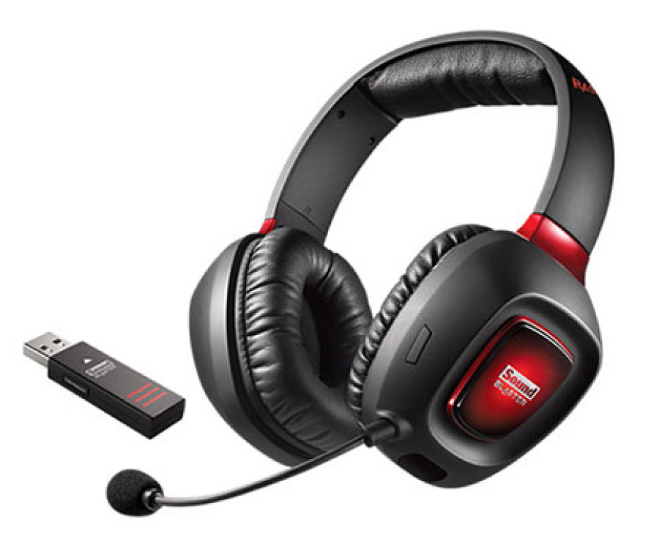Creative presents new wireless gaming headset