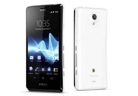 Sony Xperia T smartphone