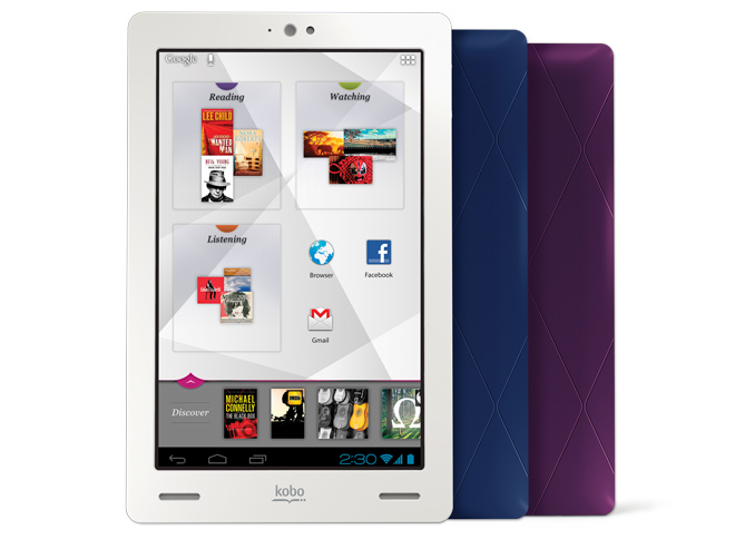 Kobo Arc tablets