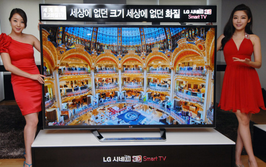 LG launches 84-inch 4K TV in the USA