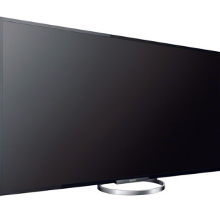 Sony demonstrates 65-inch Bravia TV set
