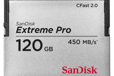 SanDisk debuts world's first CFast 2.0 memory card