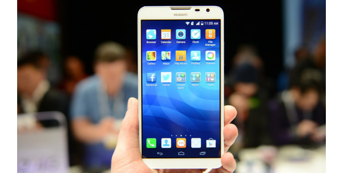 Huawei shows Ascend Mate 2 smartphone