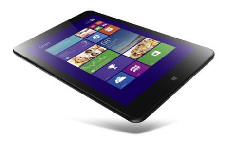 Lenovo starts sales of ThinkPad 8 tablet