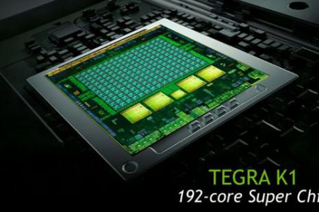 NVIDIA exhibits Tegra K1 chips