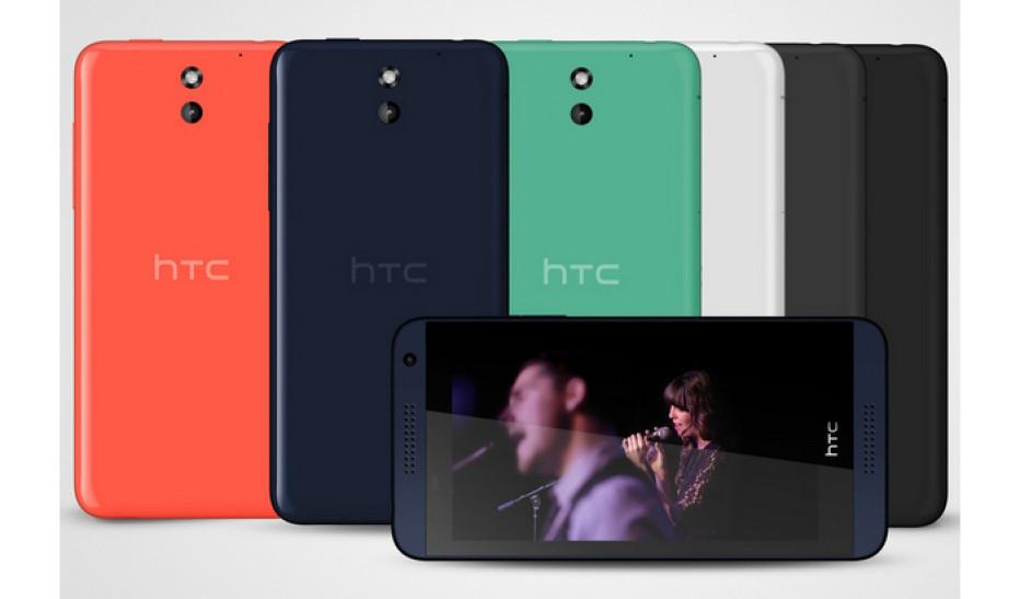 HTC debuts Desire 610 smartphone