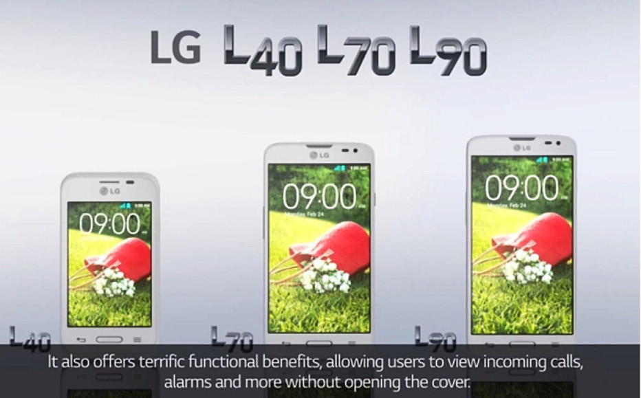 LG prepares three budget smartphones