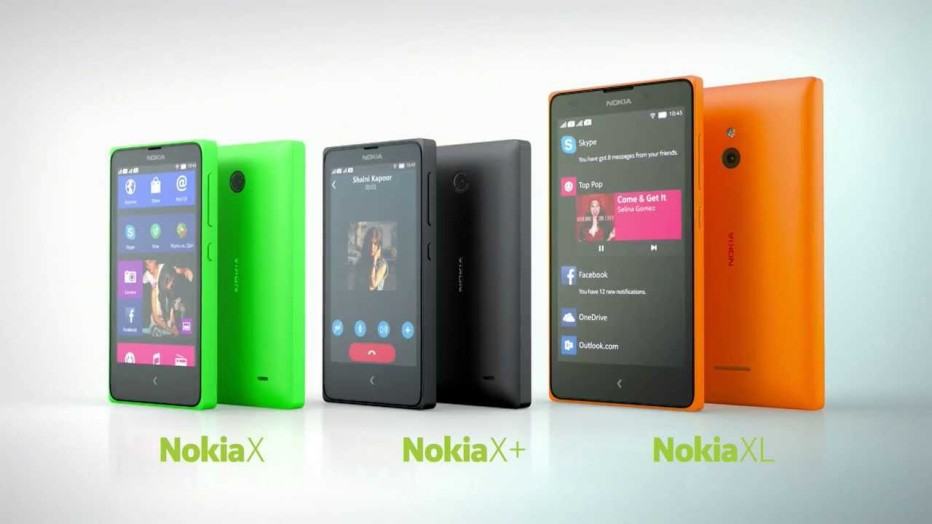 Nokia offers three new Android-based smartphones