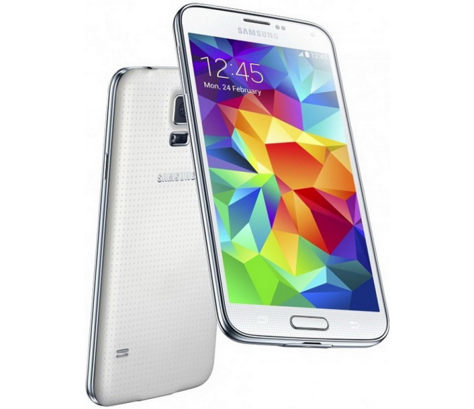 Samsung presents the Galaxy S5 smartphone