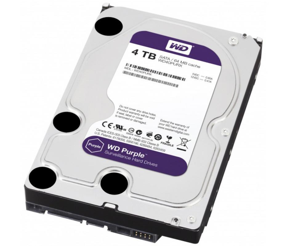 Western Digital unveils Purple line of hard drives