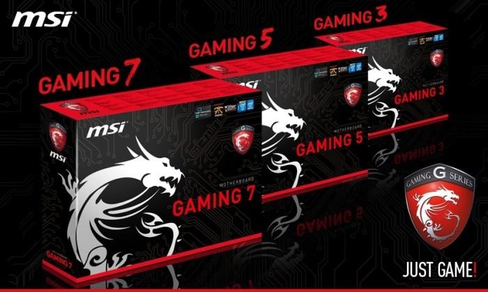 MSI Gaming boards