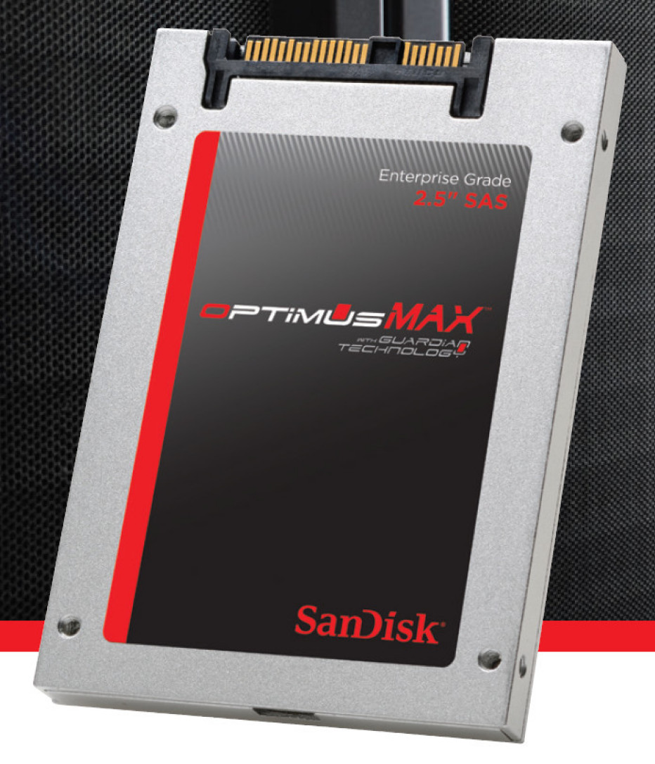 SanDisk reveals world's first 4 TB SAS SSD