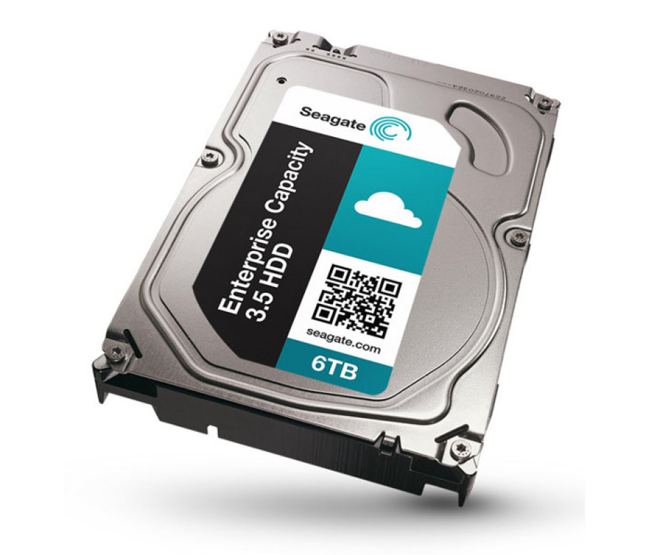 Seagate ships world's fastest 6 TB hard drive