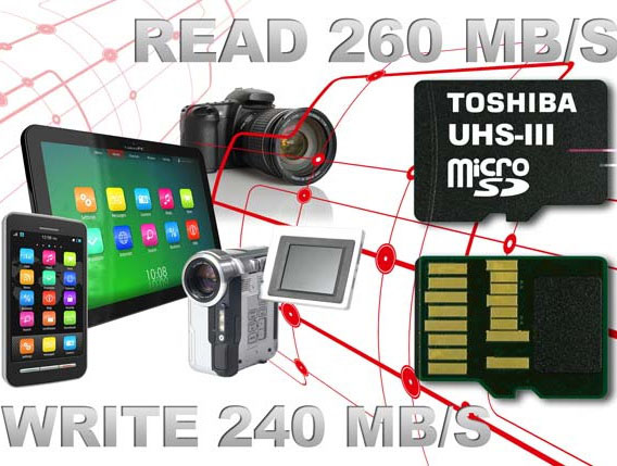 Toshiba fastest SD cards