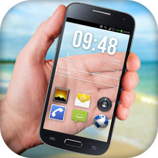 Transparent Phone Screen HD