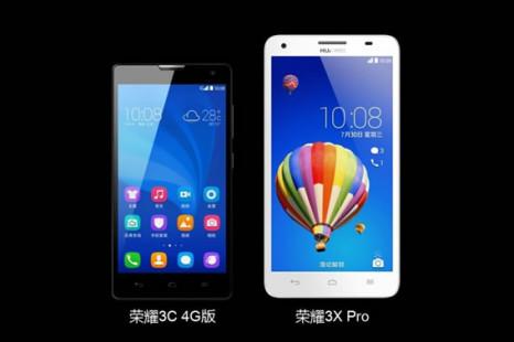 Huawei debuts Honor 3X Pro smartphone