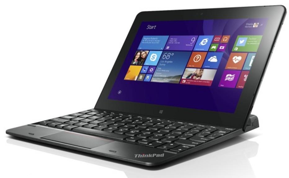 Lenovo debuts ThinkPad 10 tablet