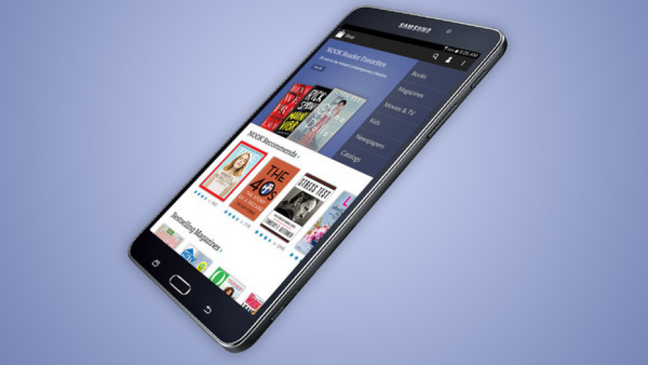 Barnes & Noble to release Galaxy Tab 4 NOOK tablet