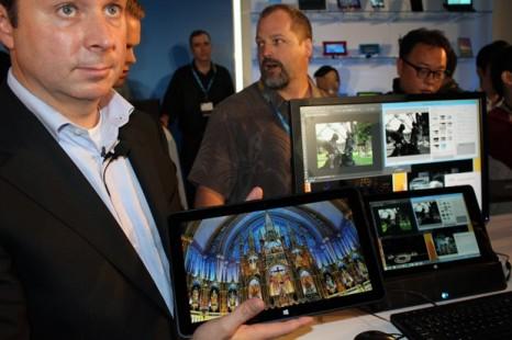 Intel presents ultrabook on Core M chip