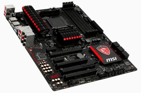 MSI exhibits AMD gaming motherboard