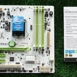 MSI presents eco-friendly motherboards