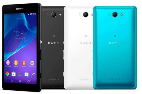 Sony works on Xperia Z2a smartphone
