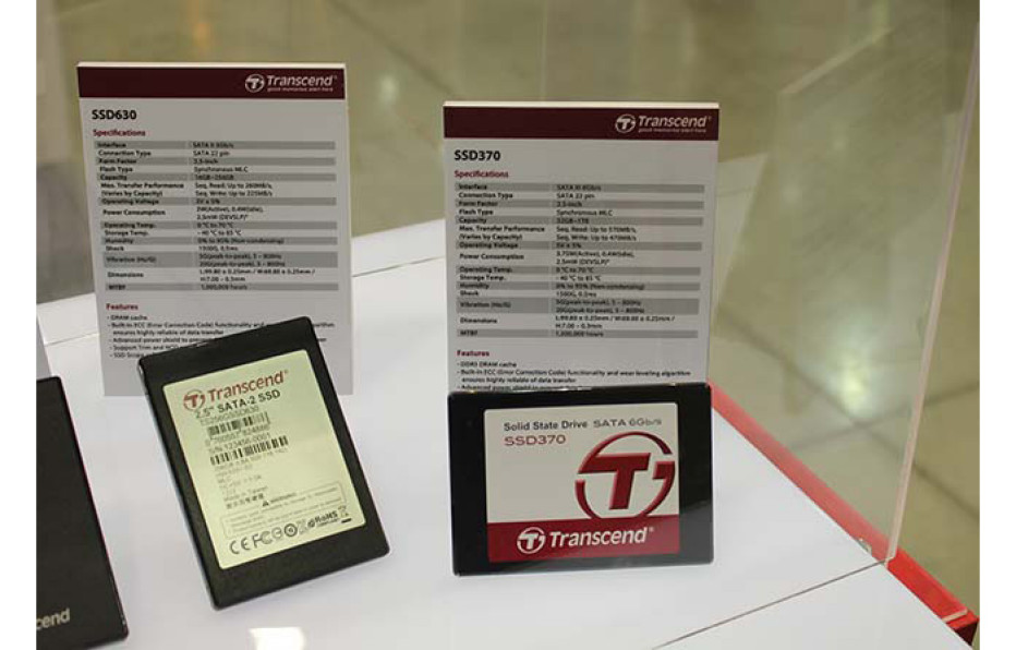 Transcend releases SSD370 solid-state drives