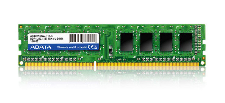 ADATA presents first DDR4 memory modules