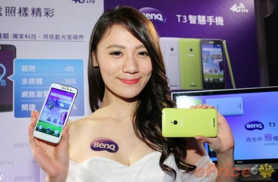 BenQ presents two mid-range smartphones